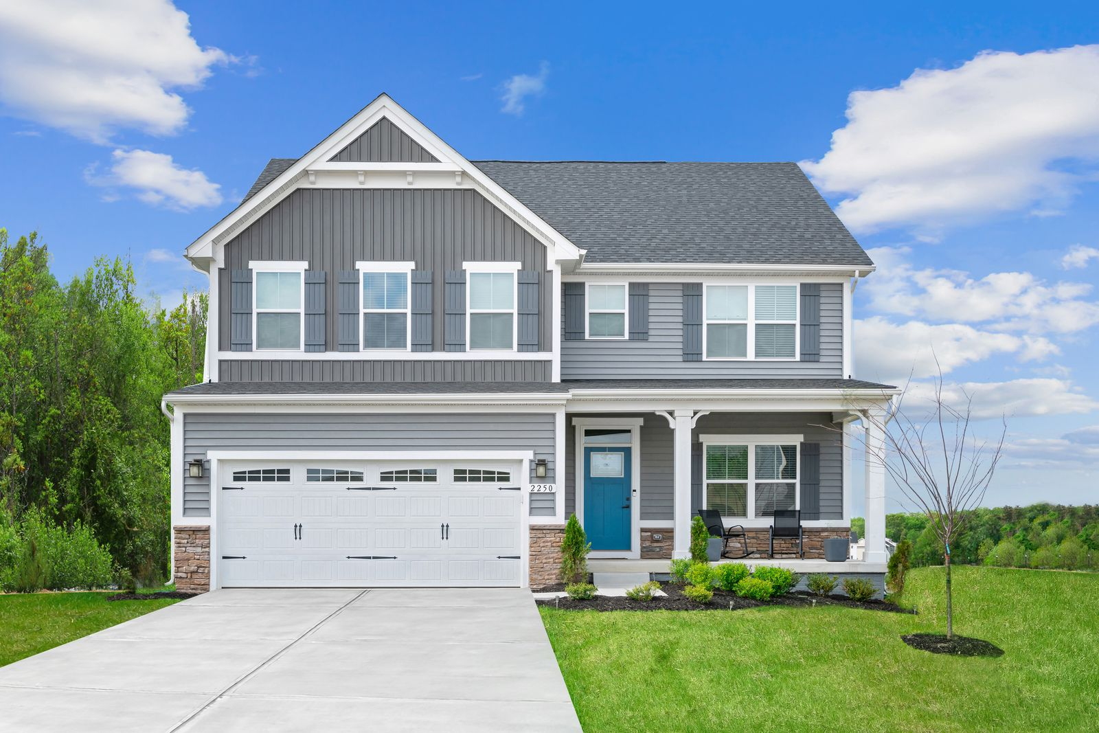 Spacious homes on tree-lined homesites with upgraded, modern finishes and optional basements:Live conveniently just 3 min from I-26 access. Schedule your visit today!