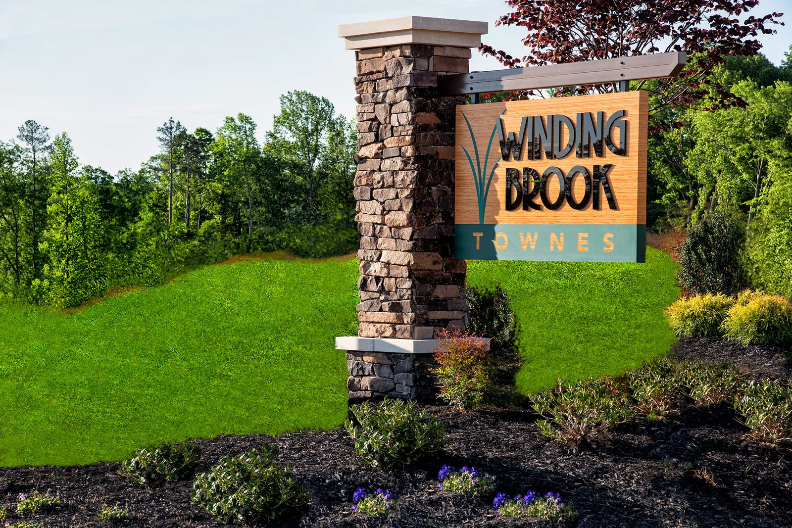 Winding Brook Townes makes it EASY!:Its hard to buy in the resale market right now. Take the stress off your shoulders by securing a brand new home &check out this video to hear how EASY it is to make Winding Brook Townes your new home