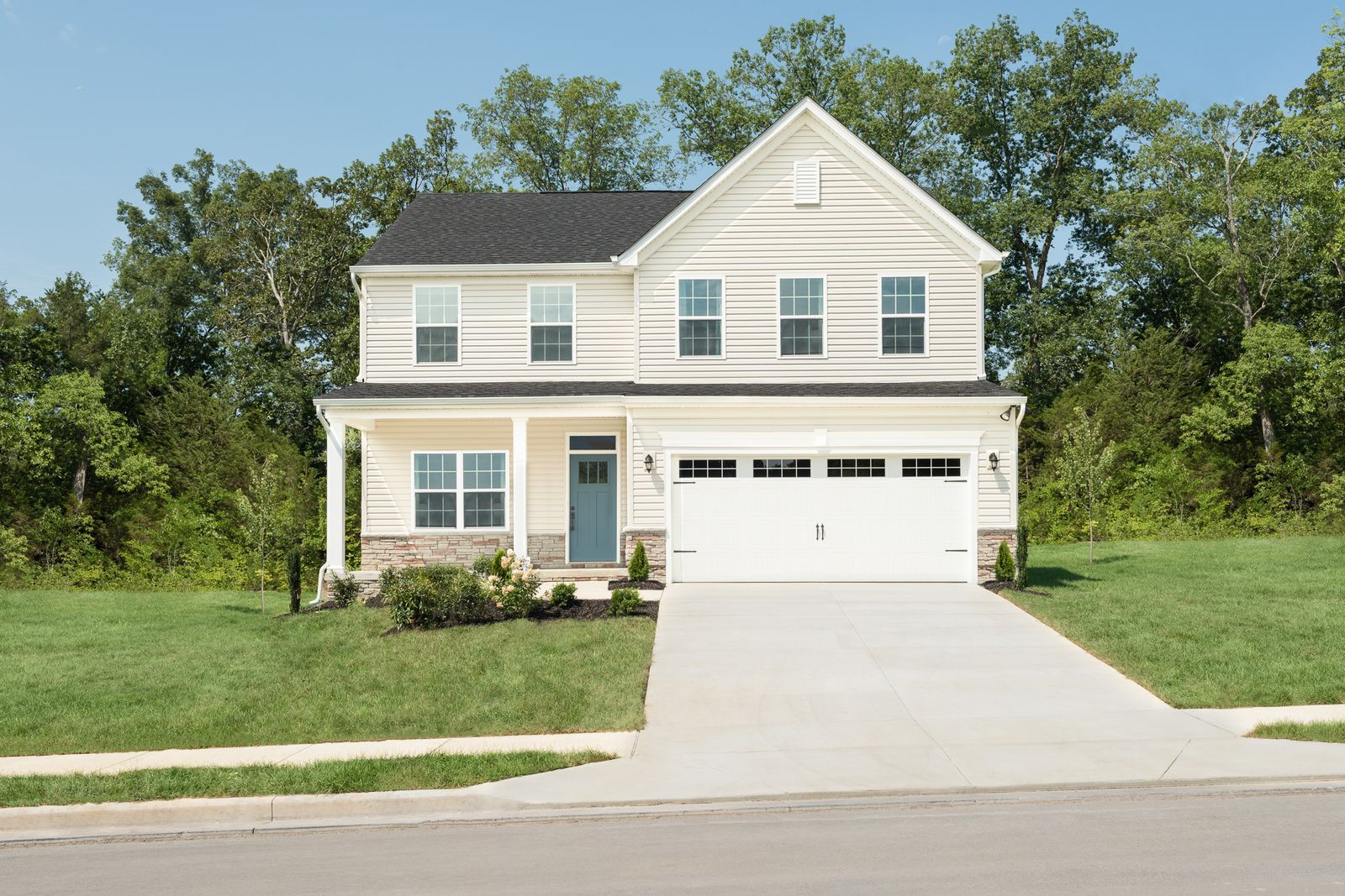 Welcome to Ovations:Offering the lowest price for a new home with a finished basement in the Smyrna area.