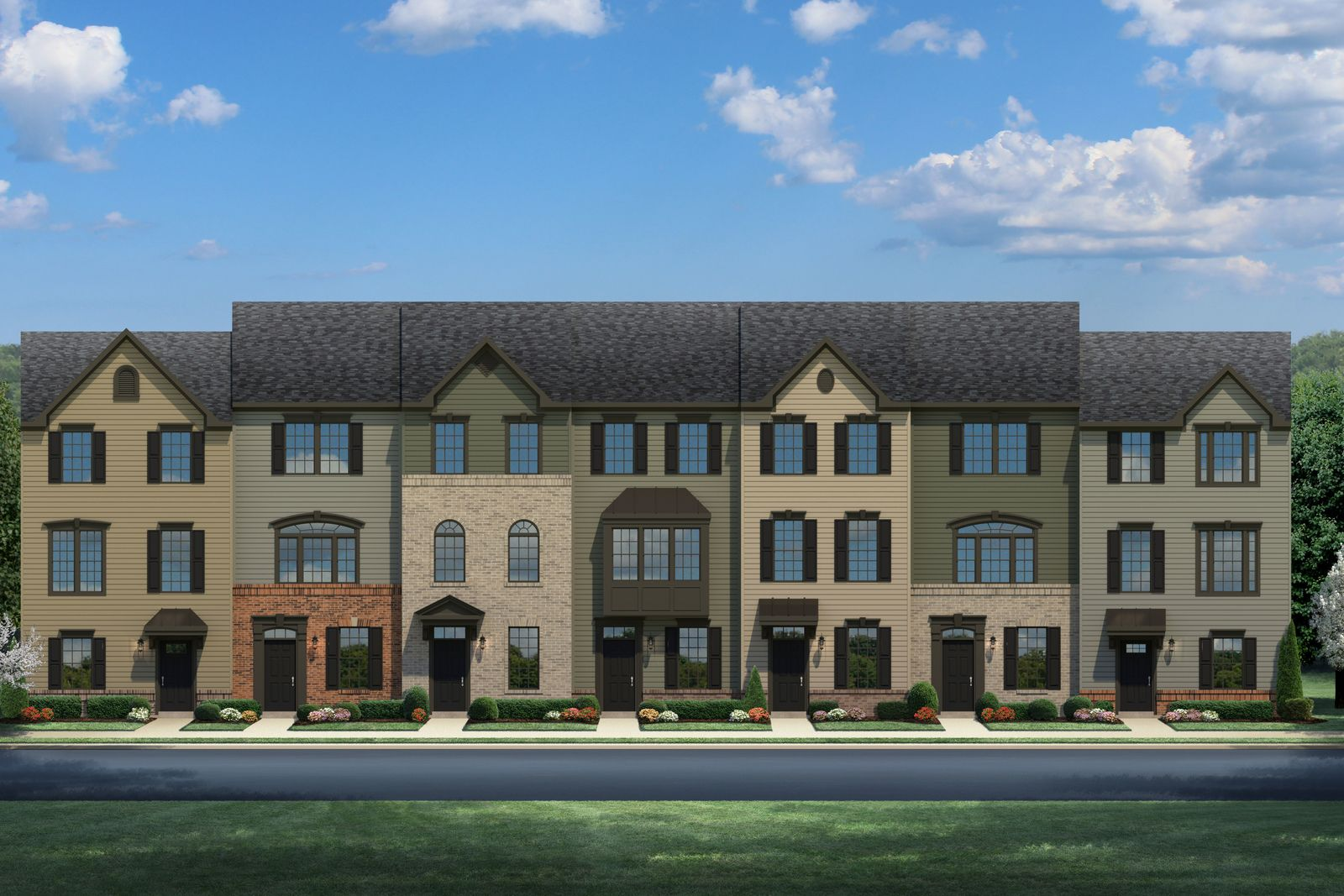 BRAND NEW GARAGE TOWNHOMES ARE NOW OPEN FROM THE LOW $300S:Fredericksburg Park features garage townhomes only 1 mile from historic downtown shops, dining, the VRE and 2 miles from I-95! Quit renting and own now.Click here to schedule your visit.