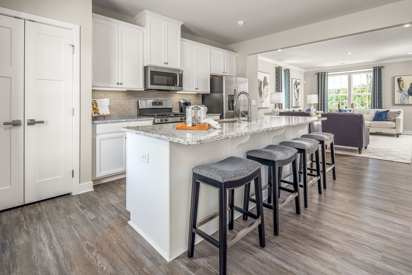 VALLEY RUN - 2-CAR GARAGE TOWNHOMES HAVE ARRIVED TO FREDERICKSBURG FROM THE MID $300S!:The lowest pricedgarage townhomes in the area with everything you need included in the base price - just 3 miles from downtown Fredericksburg & 1 mile to 95!Schedule your visit today.