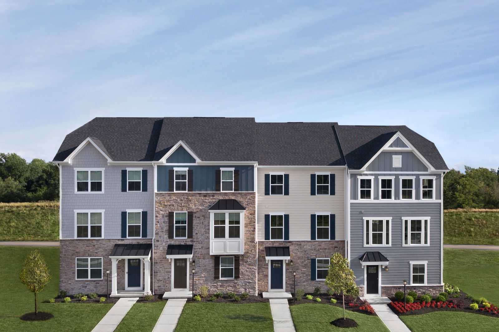 Welcome to Laurel Grove:The lowest price new homes in Pine Township with planned pool, clubhouse, & walking trails. Luxury open concept townhomes.Click here to schedule your visit!