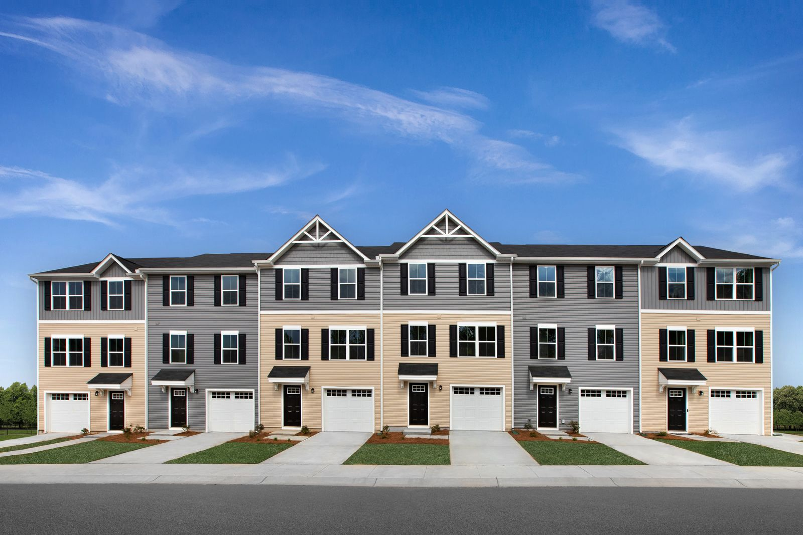 Experience the pride of homeownership in Foxhill Townes:Own a new 1-car garage Townhome w/ your own private yard. Enjoy living near Langley and Norfolk Naval.Schedule a visit today to see!