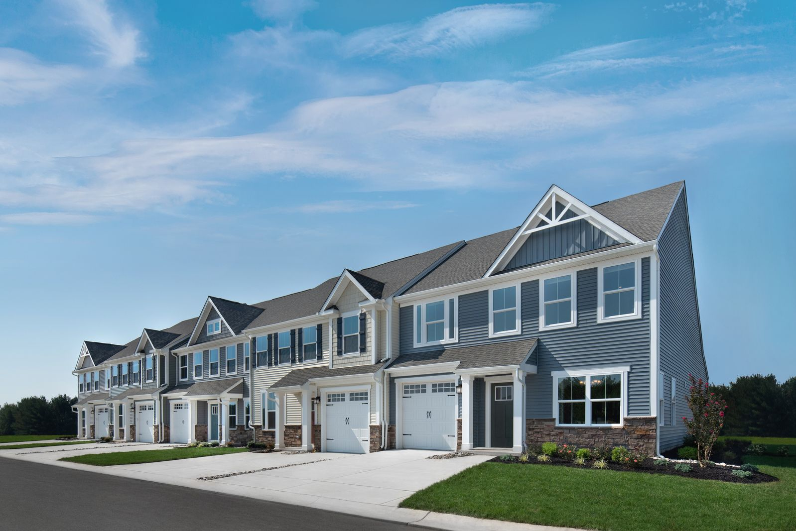 MAIN LEVEL LIVING:The only new townhomes in Newark with first-floor owner's suites, large bedrooms, 2-car garages, and 2,200+ square feet of luxury living.Click here to schedule your appointment!