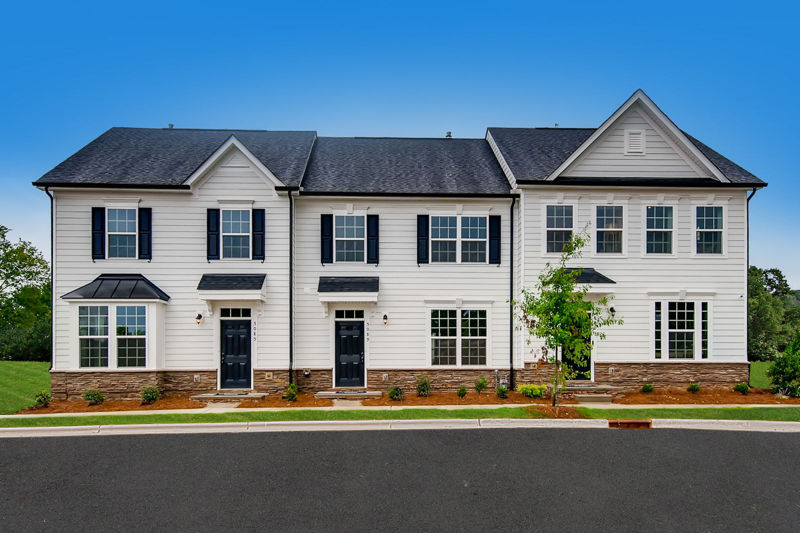 Why rent? Own a 3 bed townhome with fenced-in yard and 2-car garage included:Schedule your visitto receive a Grand Opening Incentive of $5k in upgrades, all appliances included, and $3k in closing costs when you purchase by September 30th.
