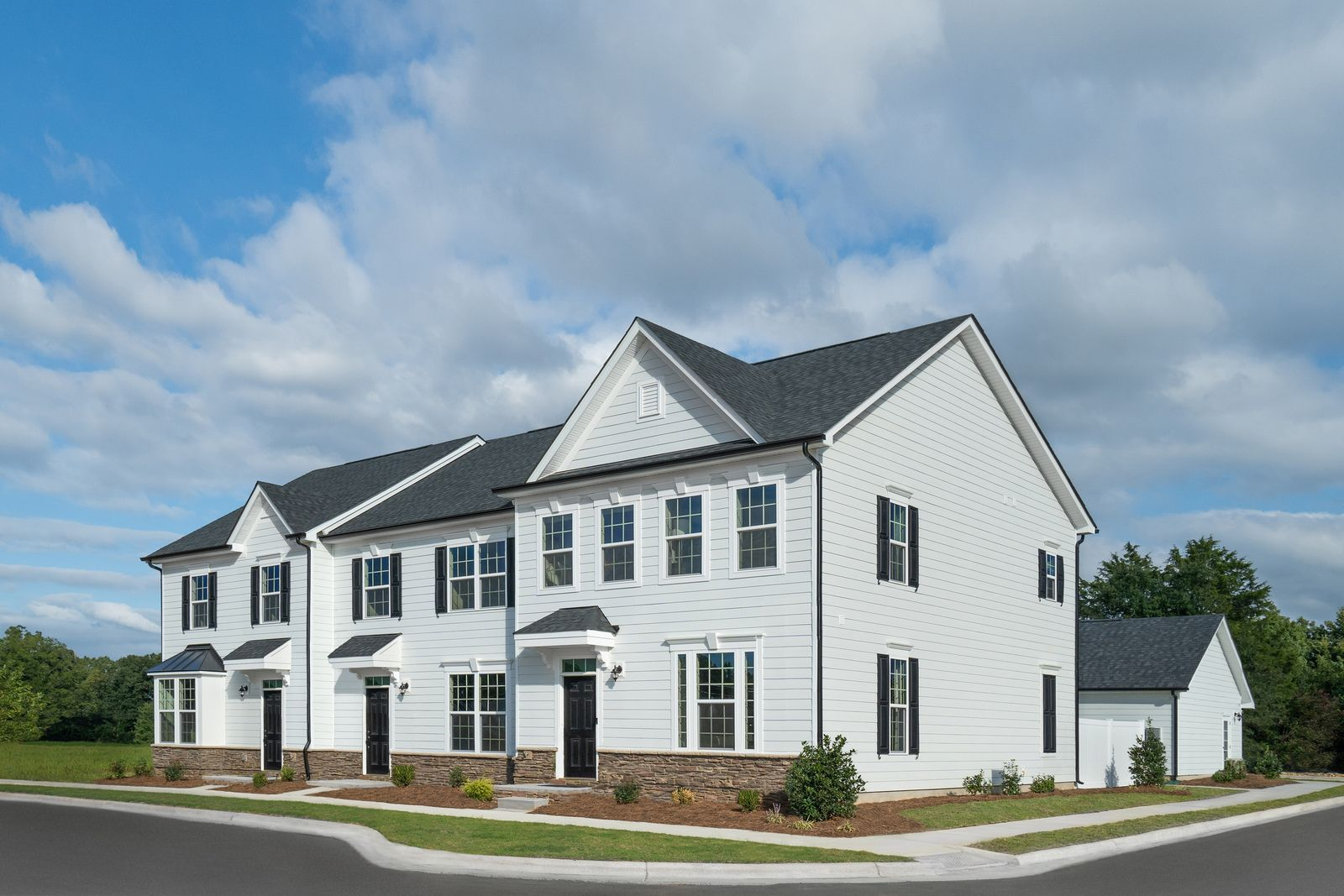 Why rent? Own a 3 bed townhome with fenced-in yard and 2-car garage included:Ready to own?Schedule your visitto see these townhomes in person and start your homebuying journey!