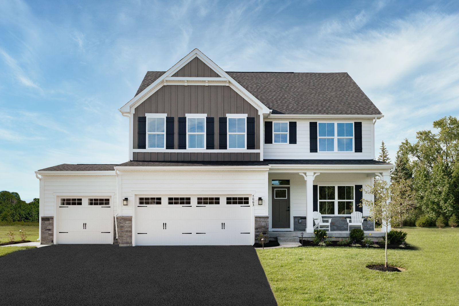 Our last home is ready for move-in and has a 3-car garage!:Come be a part of this special community! We have only one home left and it's ready now. We are open by appointment only.Schedule your private tour today--you don't want to miss this!