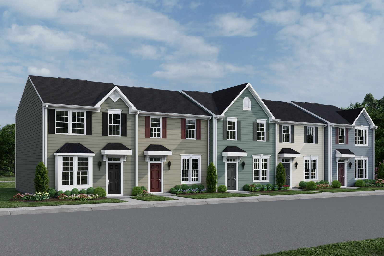 Own a 2-story townhome with street parking in a prime location:Why rent? Own a new home for the same or less than rentclose to Durham &Raleigh. Join the VIPlist today to learn more!