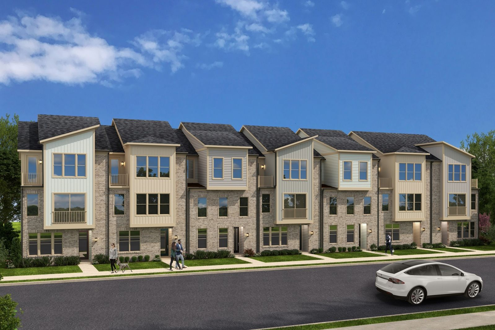 Sophisticated Townhomes in Sought-After Laurel:Introducing a private enclave of luxurious new townhomes in a pristine Laurel location, surrounded by trees and onsite amenities.Join our VIP list for the very best pricing and selection.