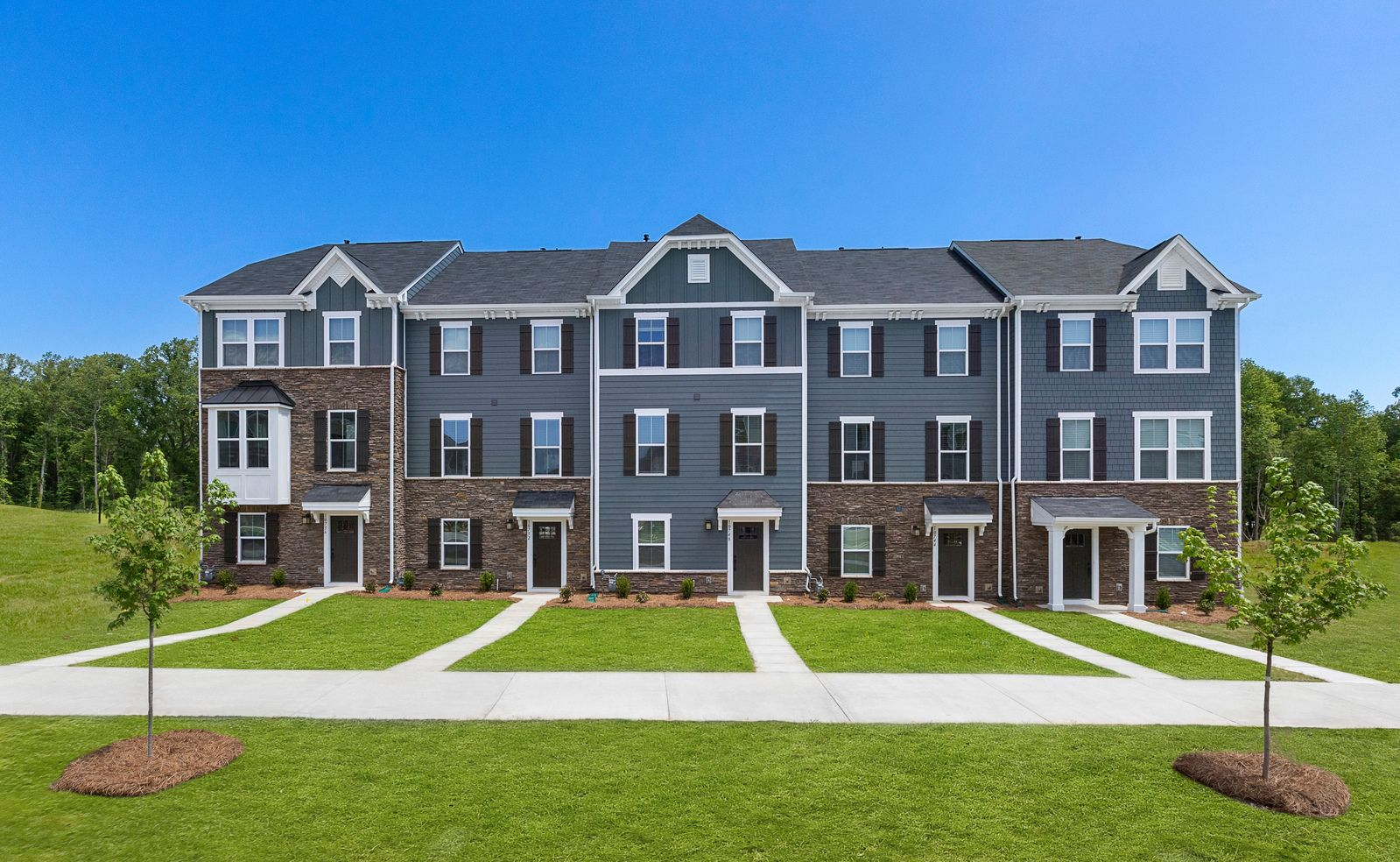 Winding Brook is now sold out!:Lowest priced 3-bedroom, 2-car garage luxury townhomes in Hanover! Why rent when you can invest in your future?Schedule a visit to find out howyou canpurchasea home w/ $0 down financing!