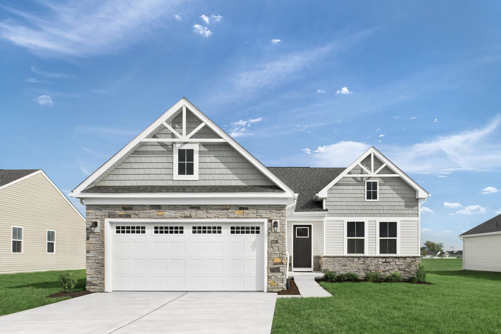 WELCOME HOME TO HIDDEN VILLAGE:Lake County's only new ranch home community with available lawn/snow care—serene wooded and pond views. Convenient to Routes 2, 20, and I-90.Click here to learn more.