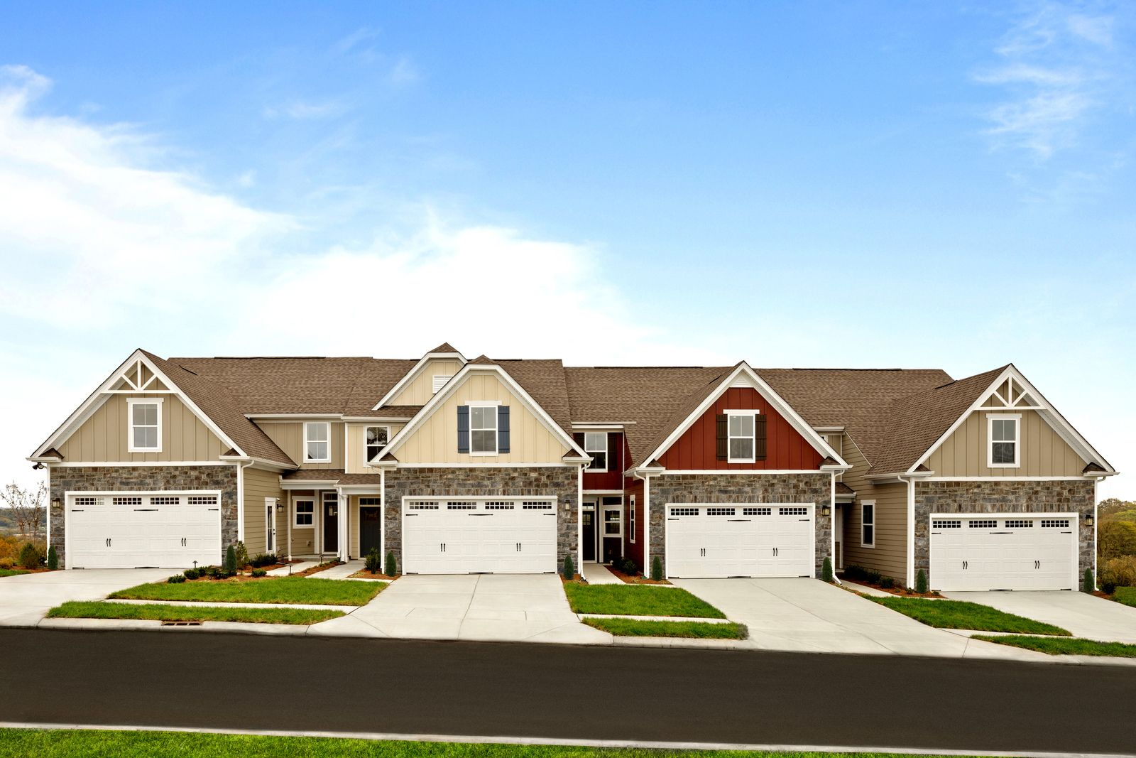 Welcome to the only new townhome community in liberty township with easy living!:Spacious, upscale open-concept townhomes with full basements and 2 car garages. Community amenities include lawn care, snow removal, exterior maintenance, walking trails, community pool & clubhouse.