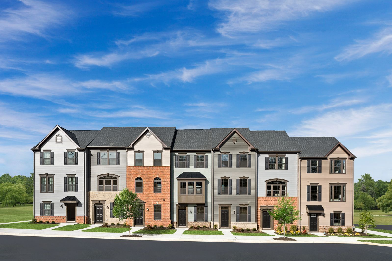 WELCOME TO FREDERICKSBURG PARK TOWNHOMES FROM THE MID $300S:Garage townhomes in the City of Fredericksburg - 1 mile walk or bike ride to Historic Downtown shops, dining, the VRE & 2 miles to I-95!Schedule your visit today.