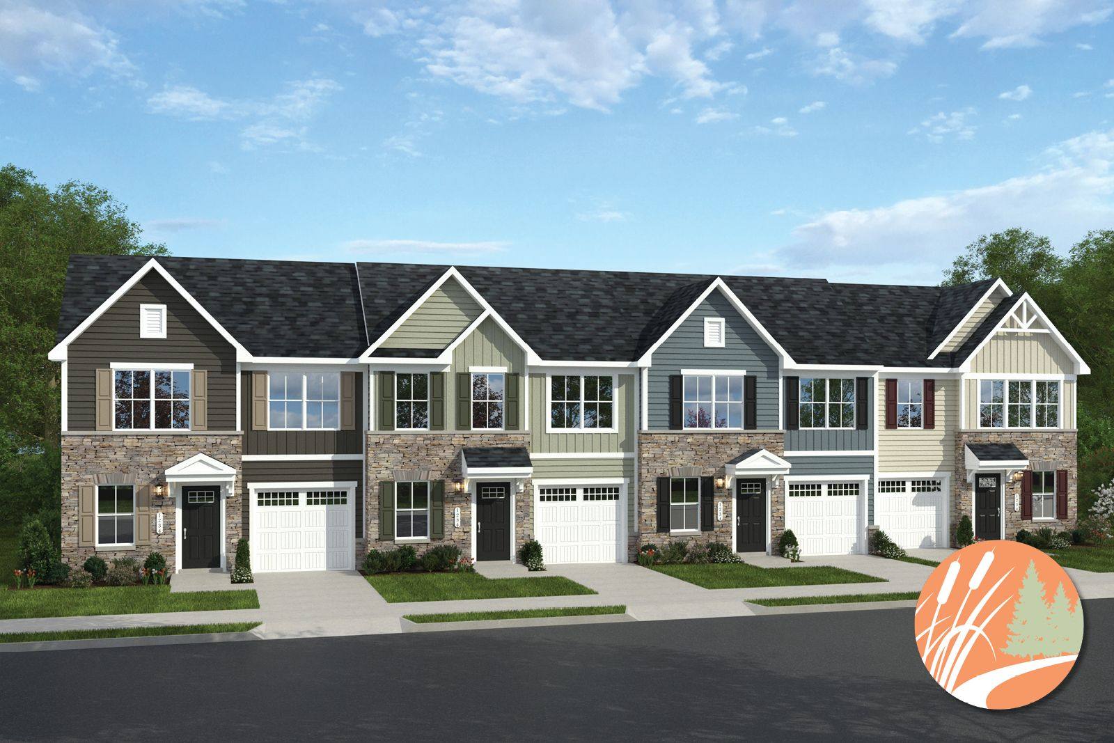 Welcome to Austin Woods Townes:Coming Soon: affordable first-floor owner's suite townes w/ private backyards & attached garages! Live a low-maintenance lifestyle on Rt 10, close to I-95 & 288.Click here to become a VIP