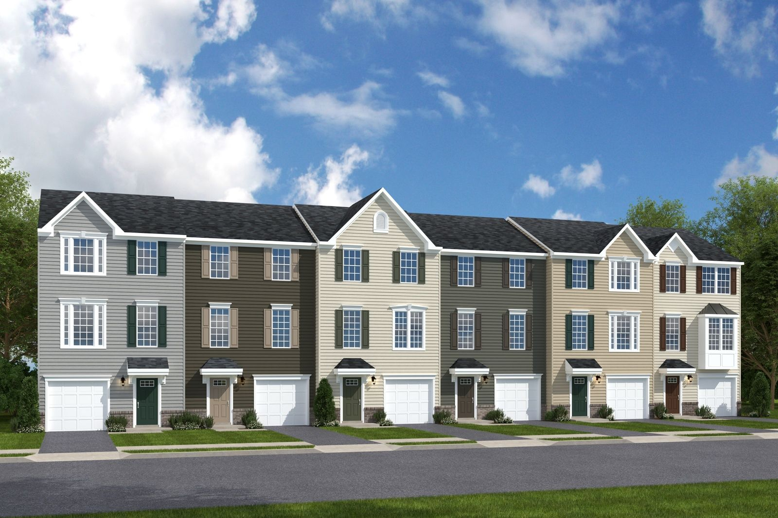Aspen Woods - New Townhomes Coming Early 2021:The most affordable 3 bedroom townhomes in Union Township! Located inside the I-275 loop near Rt. 32. Starting from the upper $100s. Stay up-to-date with community news & join the VIP List here!