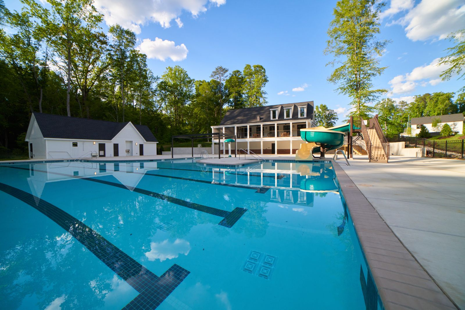 This Summer Is On Us For a Limited Time!:Our Magnolia Club pool & clubhouse will open Memorial Day Weekend! All homebuyers in May will receive access this summer! Imagine spending days poolside or having fun on the slide!Schedule a visit!