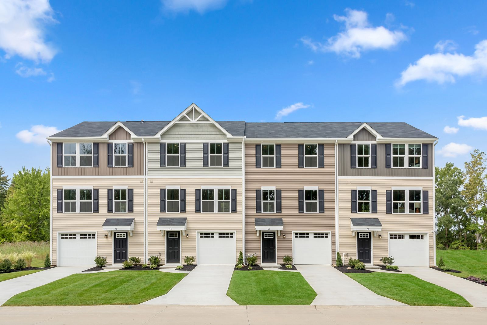 Why rent? Affordable townhomes minutes from downtown Durham:Own a 3-story townhome at the lowest price -Join the VIP list today to learn more!