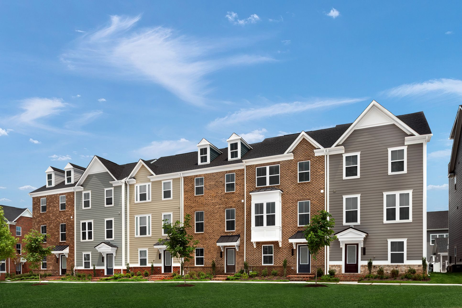 DON'T MISS OUT ON YOUR OPPORTUNITY TO OWN AT GREENLEIGH TOWNHOMES!:Offering Two-Car Garage Rear Entry Townhomes from the upper $300s!Join the VIP Listand our sales representative will contact you. Plus youcan schedule your 1-on-1 Appointment today!