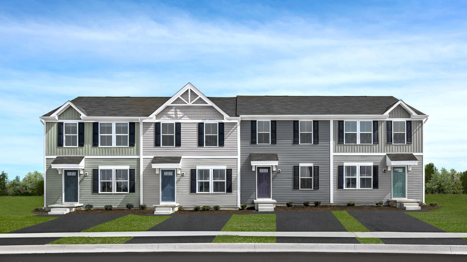 Experience the pride of homeownership in Shady Creek Townes:New to Shady Creek: Maintenance-free 3-bedroom townhomes with private yards, only 15 min to Harrisonburg, from the low $200s.Start your journey today, click here!