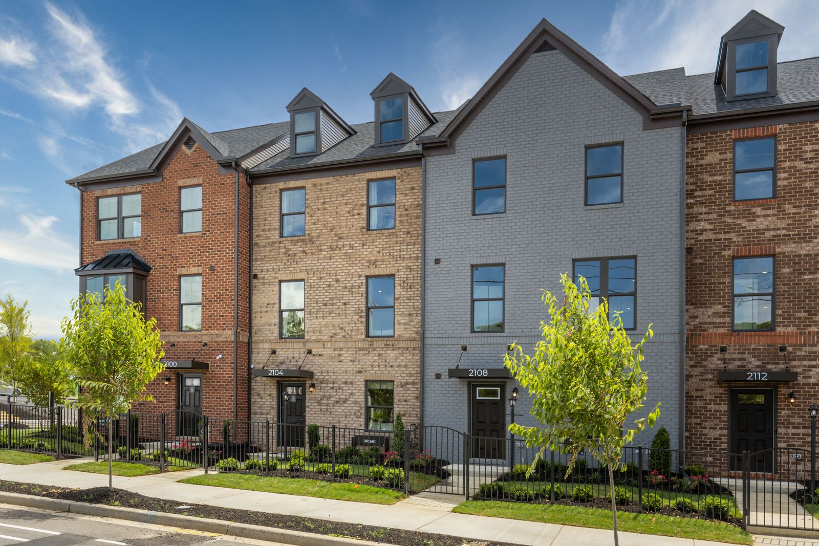 Welcome to Belle Heights: Modern charm in the city of Richmond:Belle Heights 1- and2-car garage townhomes offer modern spaces, private backyards, upgraded finishes, decks and much more! Click to schedule your appointment today.