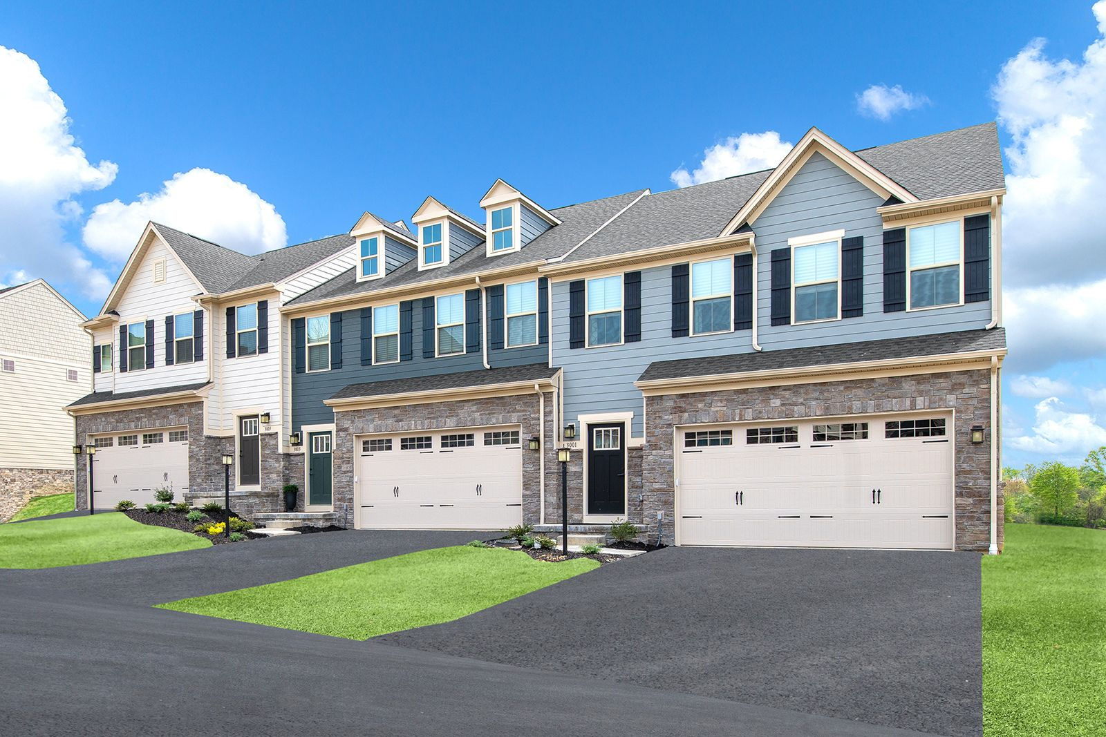 Welcome home to The Townhomes at Blackthorne Estates:The lowest-priced new homes in Penn Township. Golf course views & low-maintenance lifestyle, near Rts22 & 130, w/ low Westmoreland taxes.Join the VIP list for updates on the new homesites.