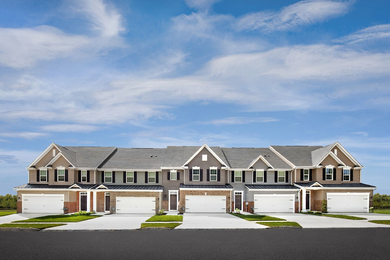 Welcome to Foxtail Creek Townhomes, a 55+ Community:The only new 55+ townhomes with a Moorestown mailing address, convenient Delran Twp location & a 5-year tax abatement (1) Click here to schedule your appointment today. Photo (2)