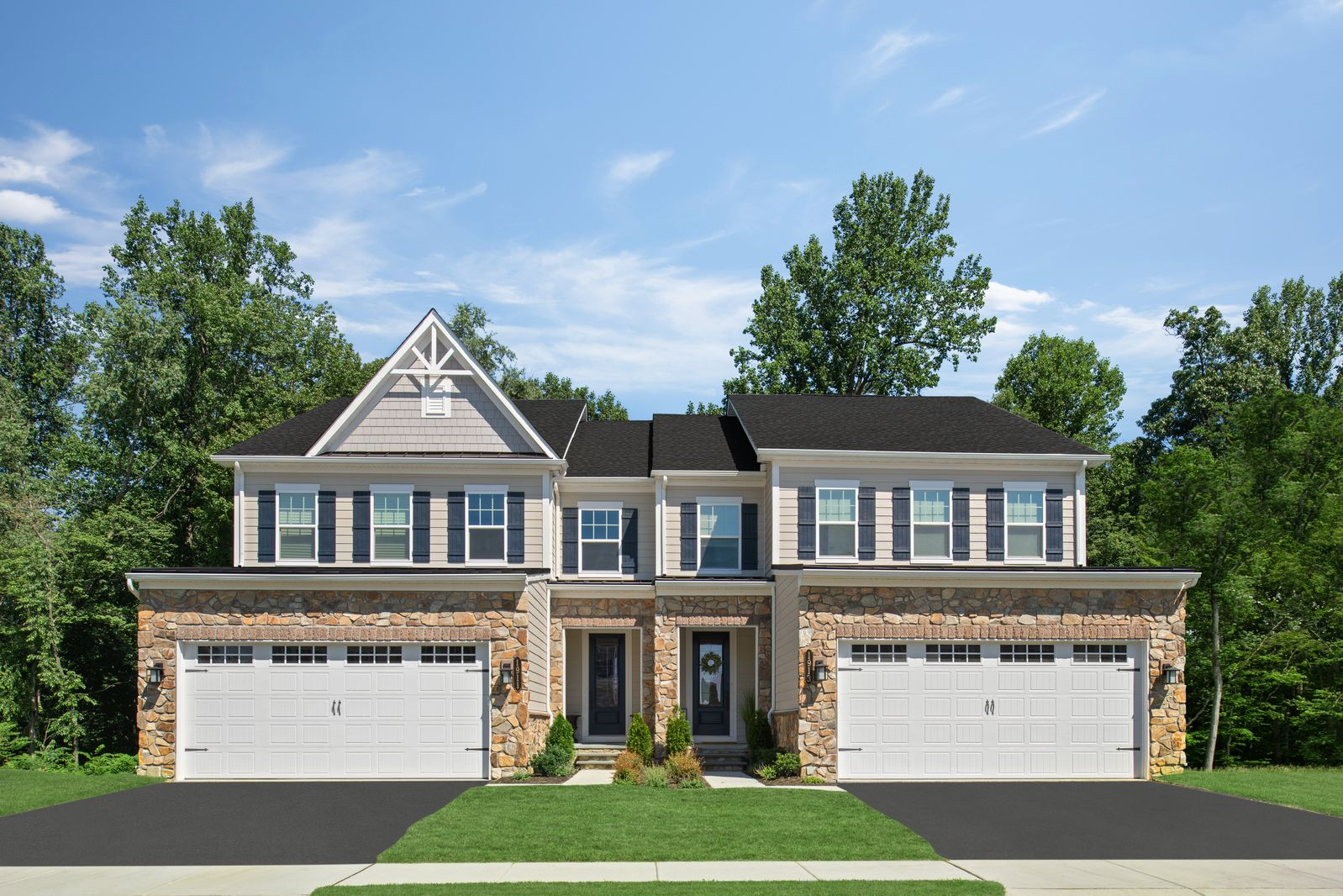 WELCOME TO GREYSTONE:The only new town and twin homes with the luxury features you want, 3 minutes from the West Chester Borough. Schedule your appointment today.