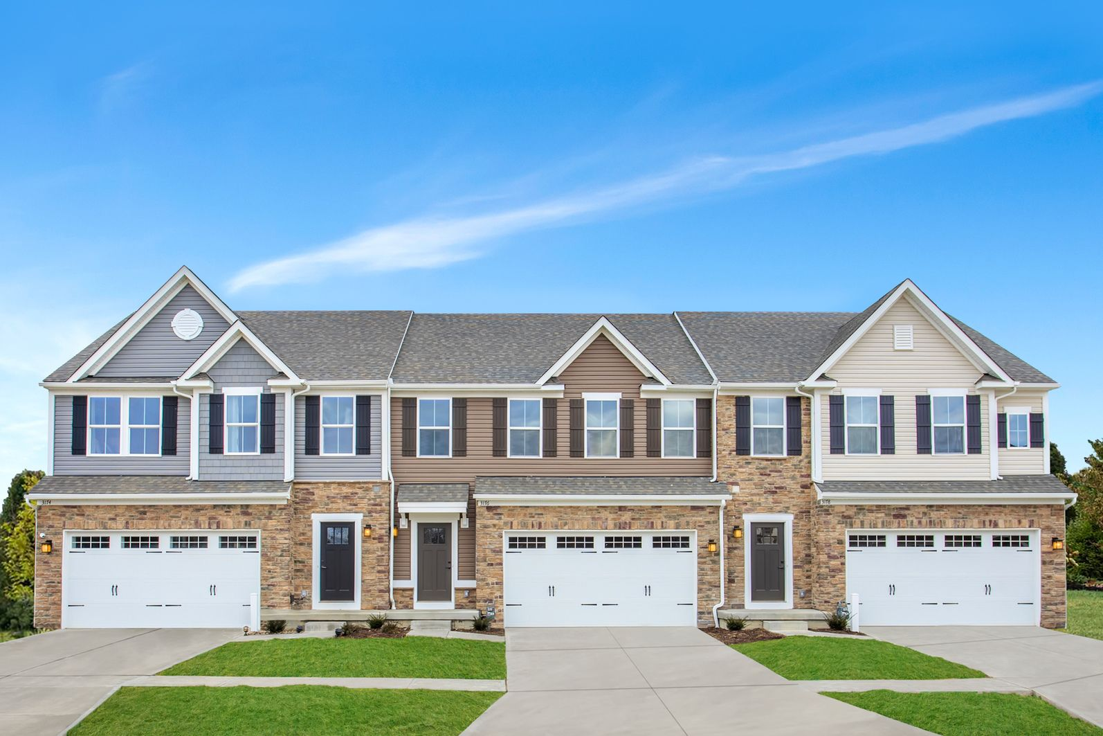 WINDSOR POINTE – COMING SOON TO FAIRFIELD TOWNSHIP FALL 2021:2-Story single-family style townhomes w/ basements in Fairfield Township. Seconds from 129 & nearby plenty of shopping and dining. All appliances included. Upper $200s.Join the VIP List today!