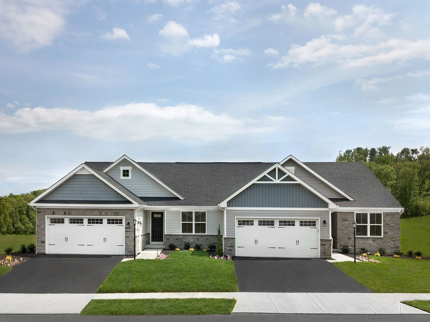 WELCOME TO TWIN LAKE VILLAS - COMING SOON TO LOCUST GROVE FROM THE LOW $300S:55+ Active Adult community conveniently located between Culpeper & Fredericksburg. Enjoy this enclave of main-level living villas perfect for the next stage in life!Join the VIP List today.
