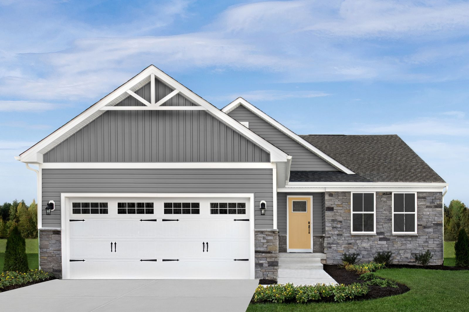 Gristmill Villas: New Detached Ranch Homes in Westfield:Westfield's best value low-maintenance ranch homes, w tons of included features. Located near the corner of SR 32 & US-31, minutes from the Monon Trail. From upper $200s.Click here to learn more!