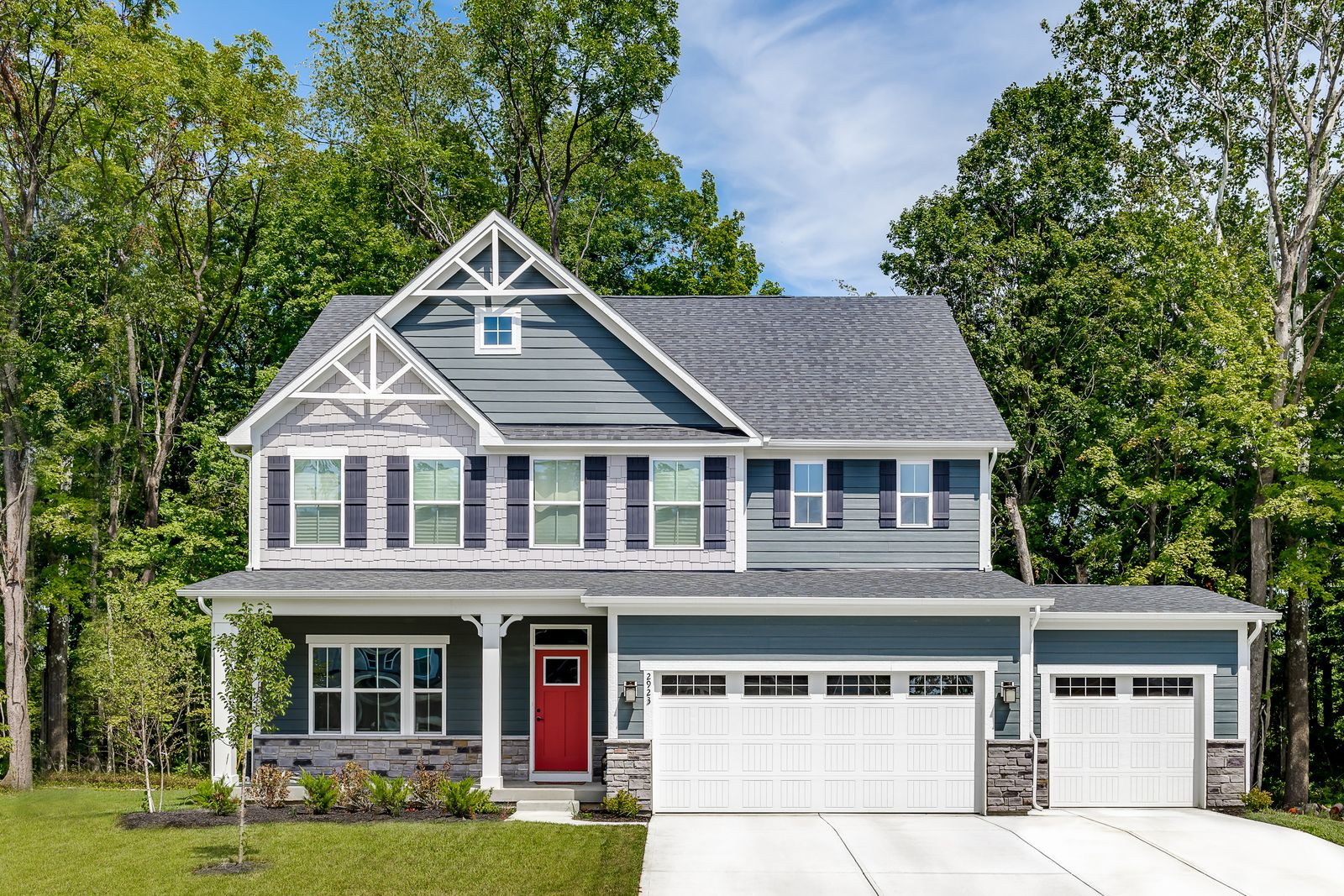 Welcome Home to Streamside, Cul-de-sac homesites now available!:2-story & ranch homes with large, wooded homesites in the Village of Batavia! Enjoy Batavia Schools, finished basements & close proximity to Rt. 32. Eligible for Tax Abatement.Schedule a visit today!