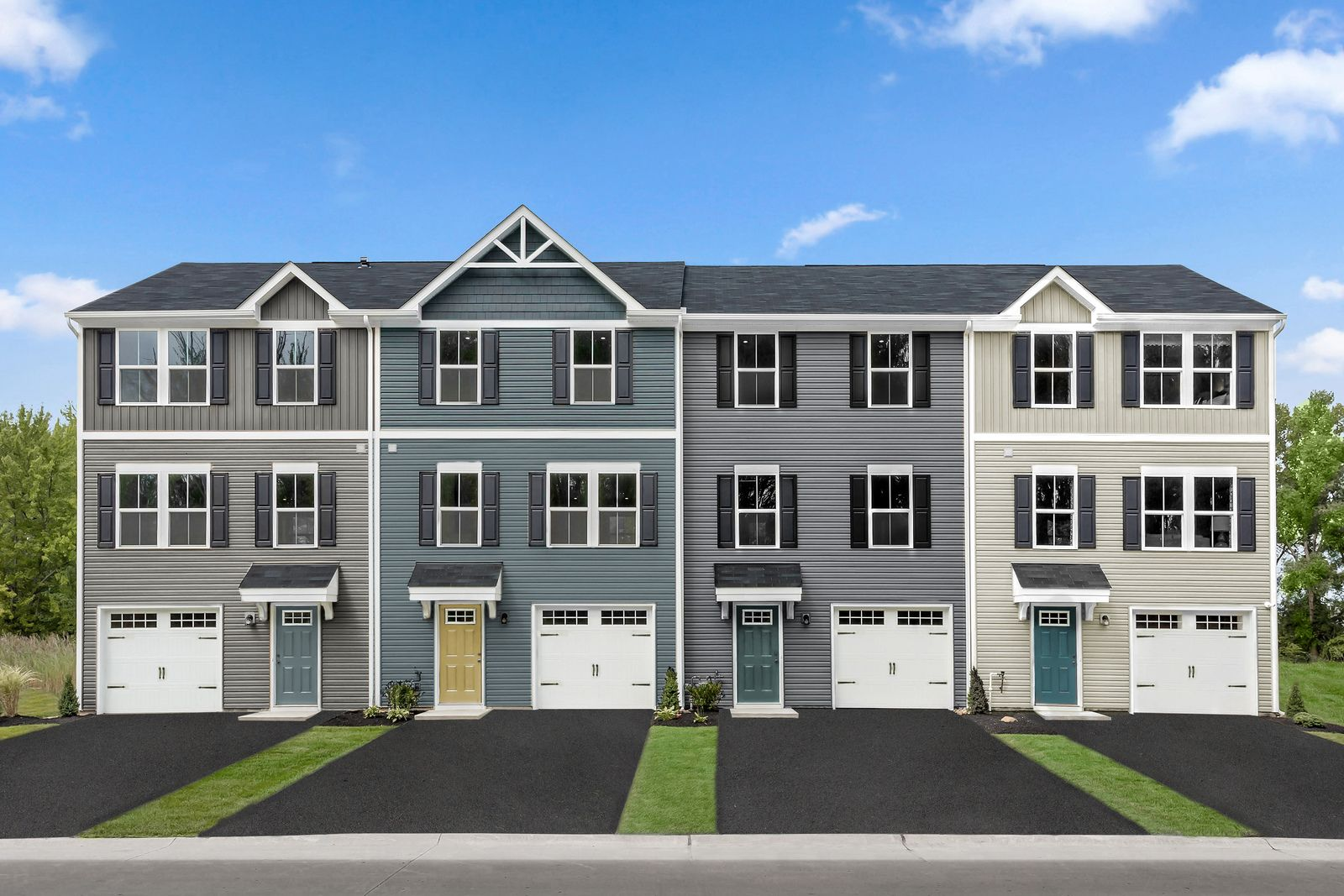 BECOME A VIP AT MEADE'S TOWNHOMES:Own a brand new garage townhome in an amenity filled community! ..