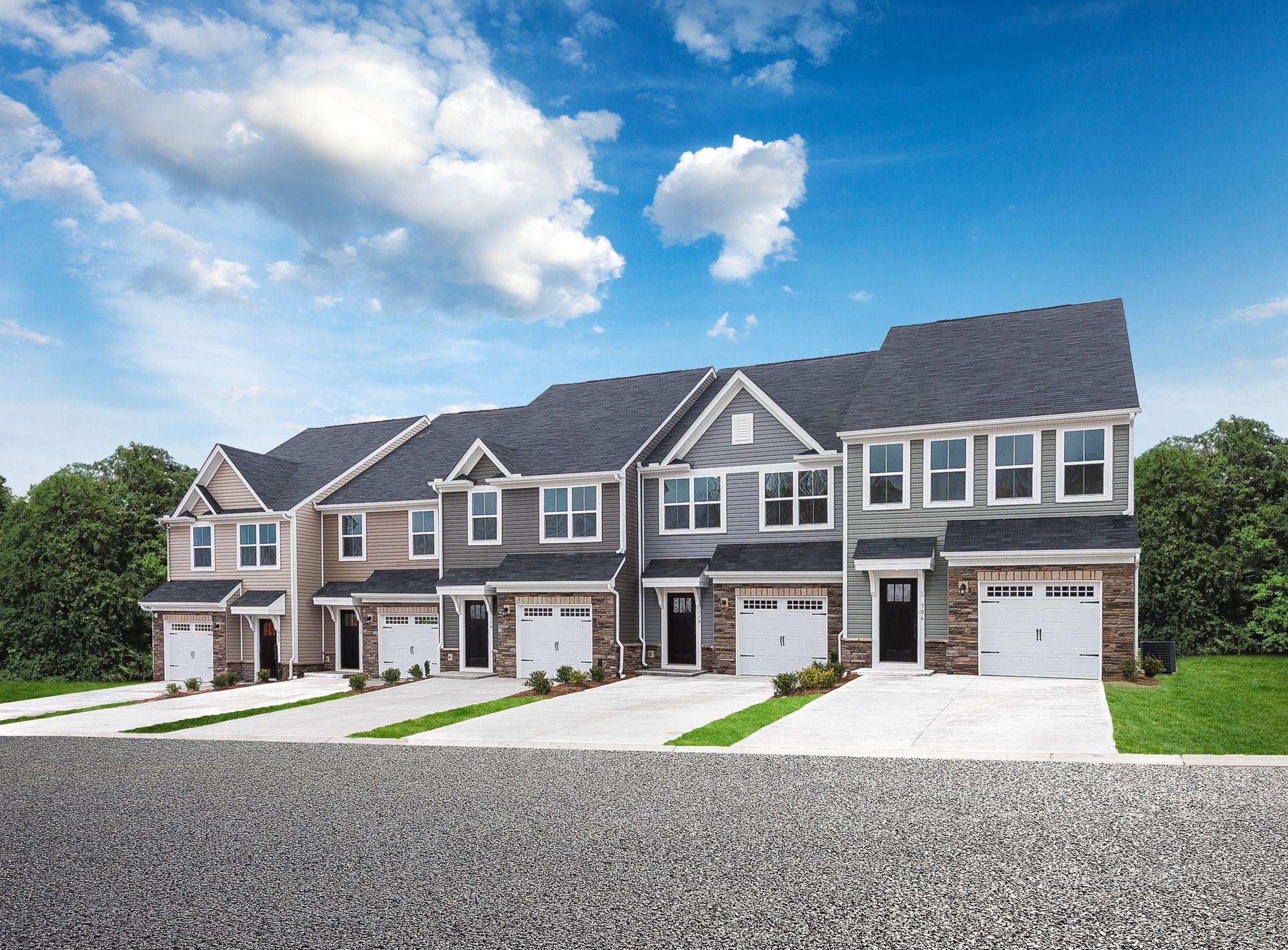 Last Chance! Only 4 Homesites left!:Highly sought after townhomes, Luxury Finishes, Amenity rich, Starting in the Upper $200s! Convenient to Williamsburg and I-64.Click here to visit.