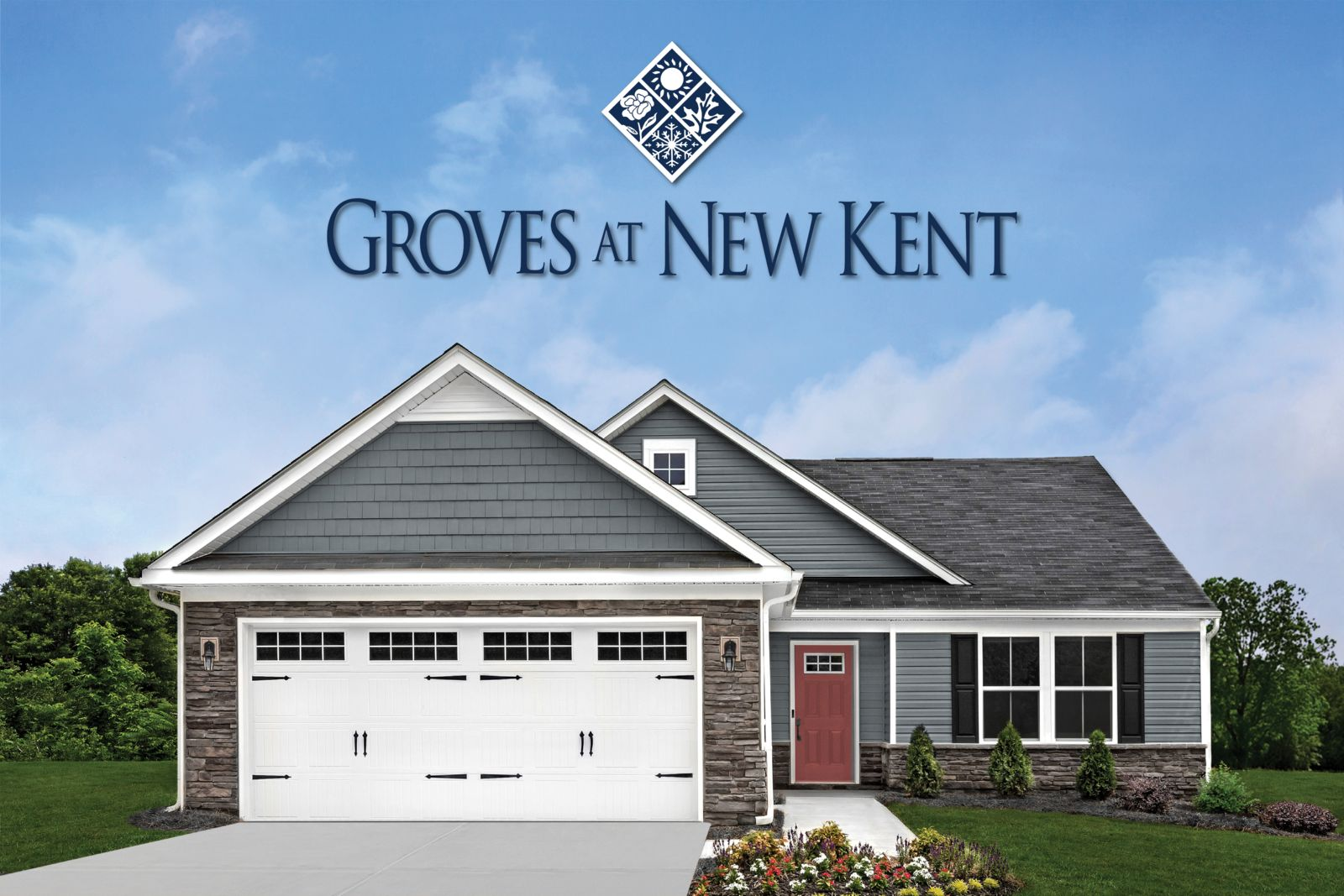 Starting your forever, today:Introducing our new active adult community; 1-story homes w/ no yard work & top-of-the-line amenities. Located in beautiful New Kent w/ quick access to Richmond & Williamsburg.Click here to be a VIP.