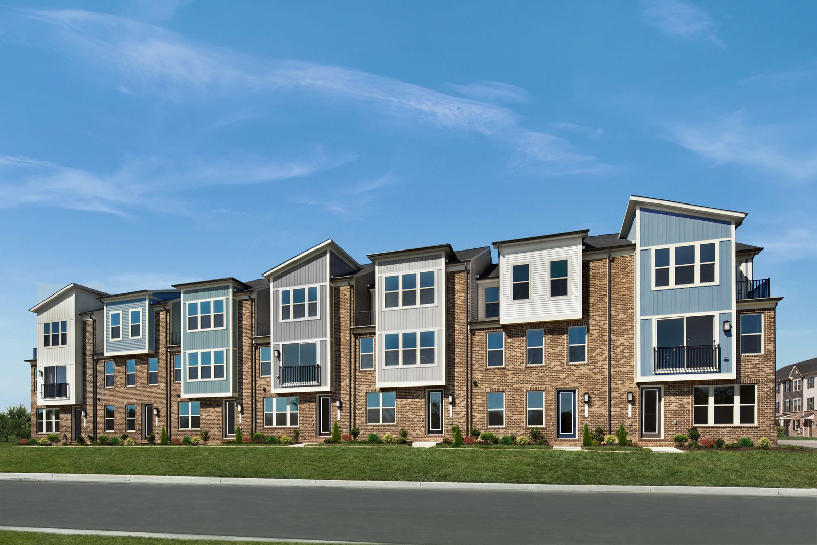 Sophisticated Townhomes in Sought-After Laurel:Introducing a private enclave of luxurious new townhomes in a pristine Laurel location, surrounded by trees and onsite amenities. New homesites are coming soon. Join our VIP list today!