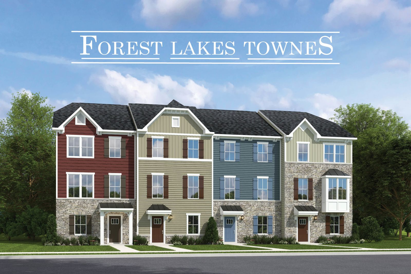 THE LOCATION, LUXURY, & LIFESTYLE YOU DESIRE:Introducing a quaint enclave of just 32 luxury townhomes in the sought after, amenity rich Forest Lakes community, from the low $400s!Join the VIP List today!