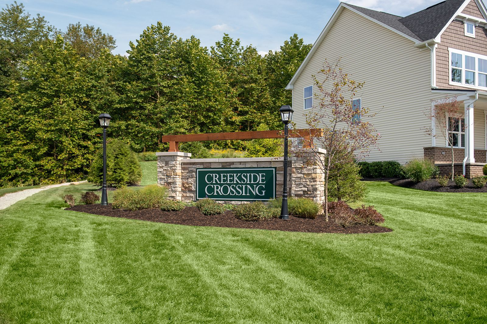 Welcome Home to Creekside Crossing:The only new luxury single-family homes in a convenient rural Washington Co. location with Canon McMillan Schools, a playground & homes with a 2 or 3-car garage.Schedule your appointment today!