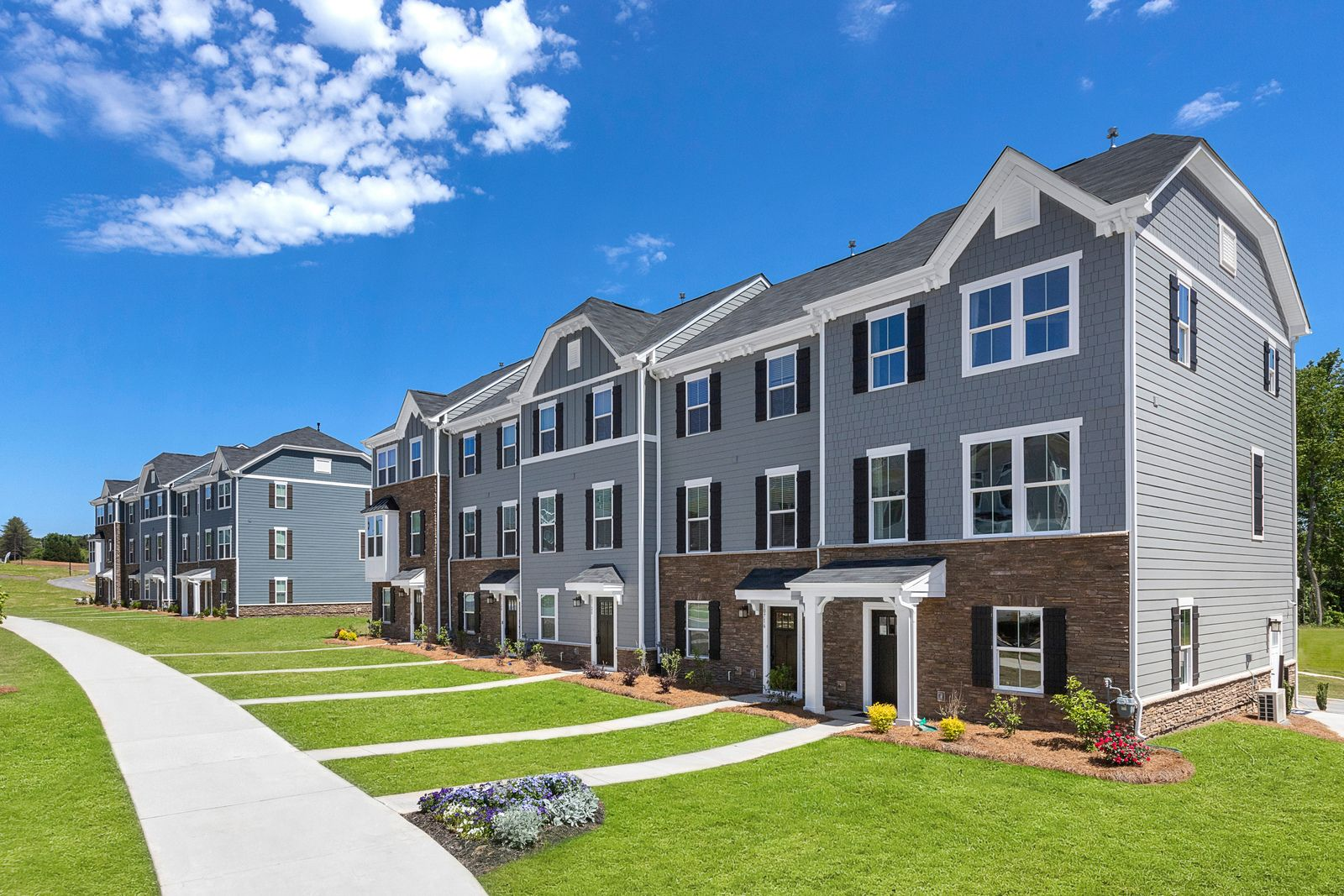 Own a new townhome minutes to Uptown and close to I-485 &16