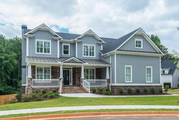 The Glenbrook II. New Construction. Representation of home.