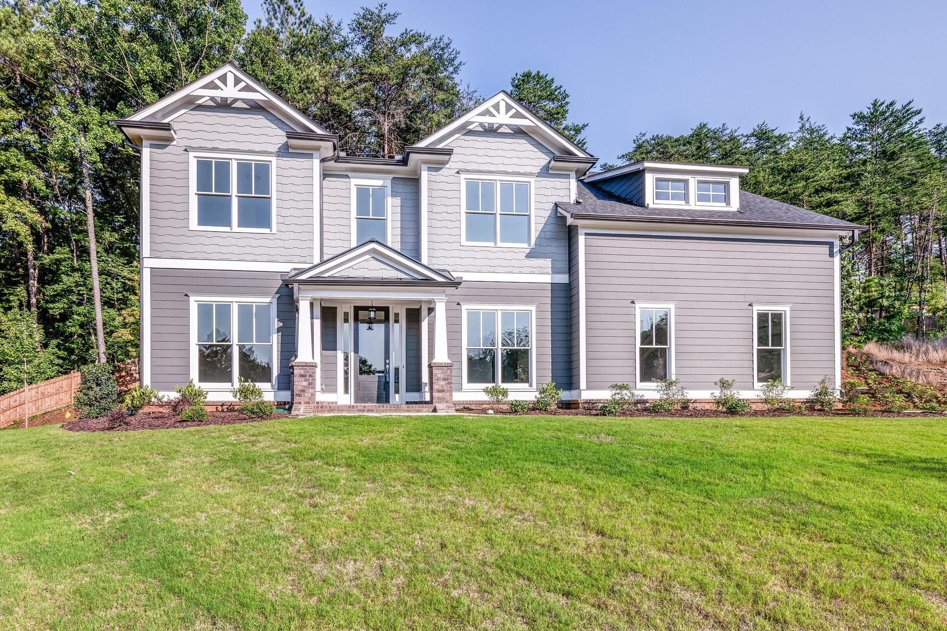 Glenbrook II. New Construction. Representation of Home.
