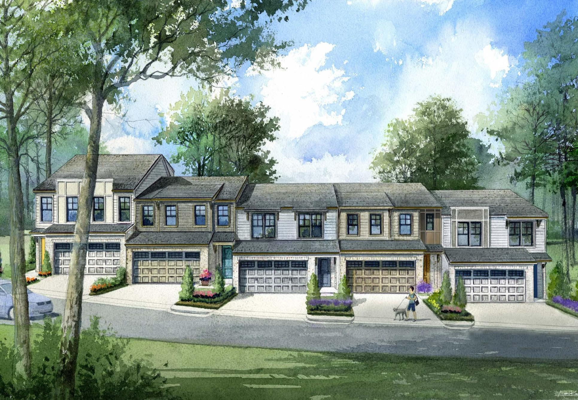 Townhome Rendering Building 1