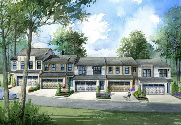 Townhouse Rendering