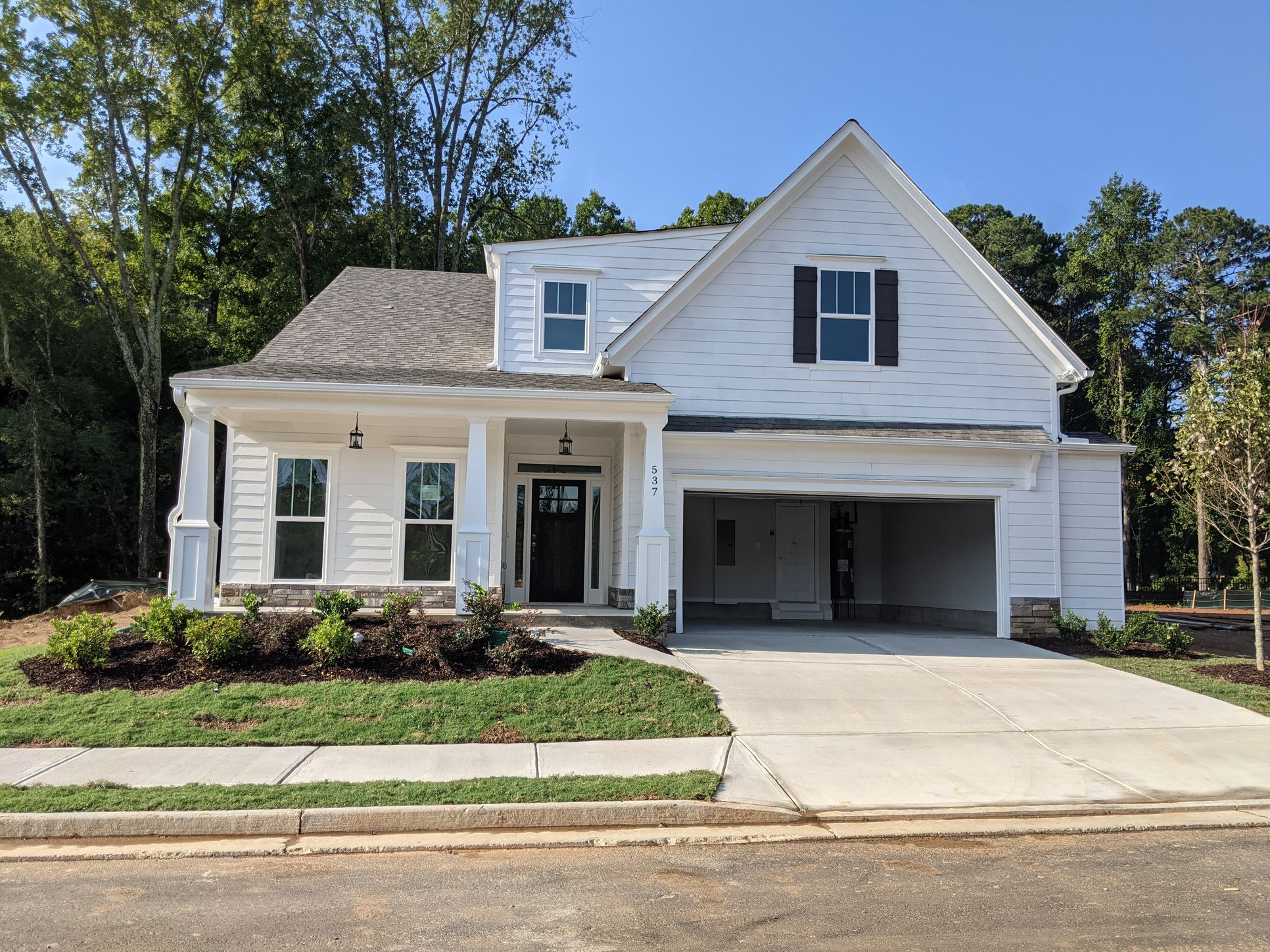 Classic Elevation :The Rossmore - Move In Ready! Actual Home.