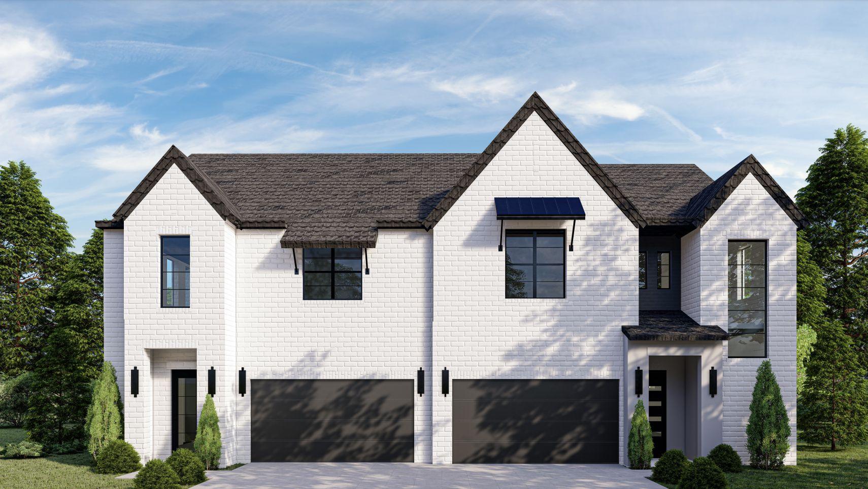 Sloan Duplex:Elevation A