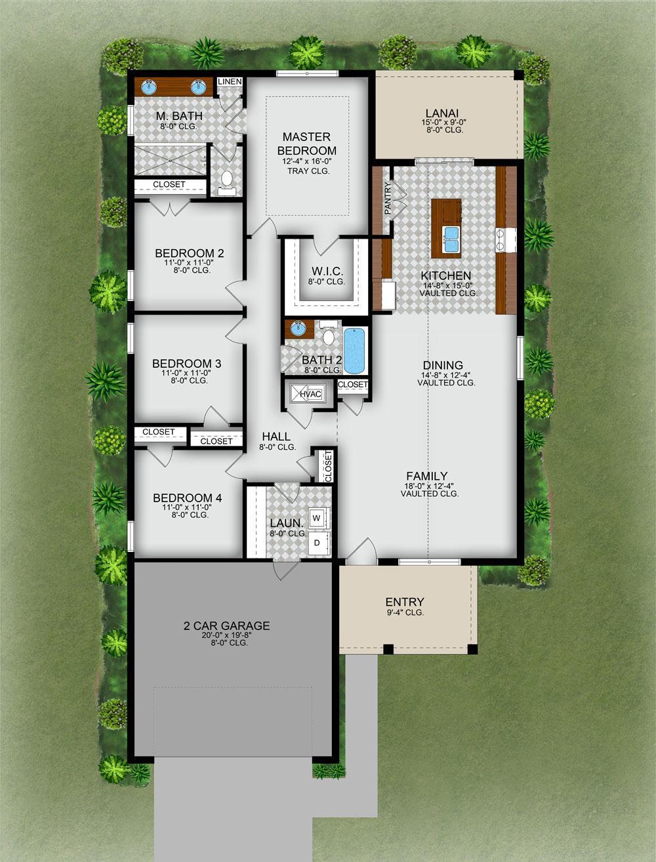 Model X:Floor Plan