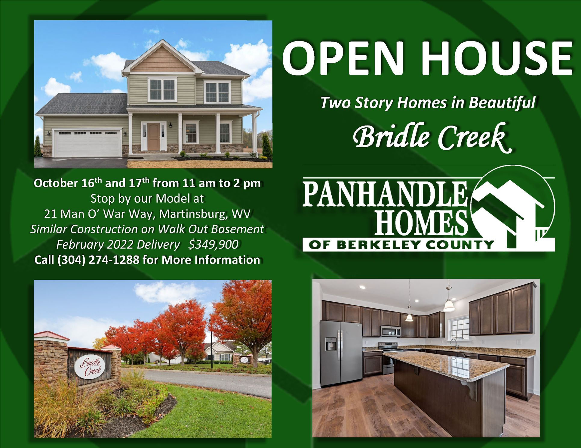 Open House - Coming Soon!