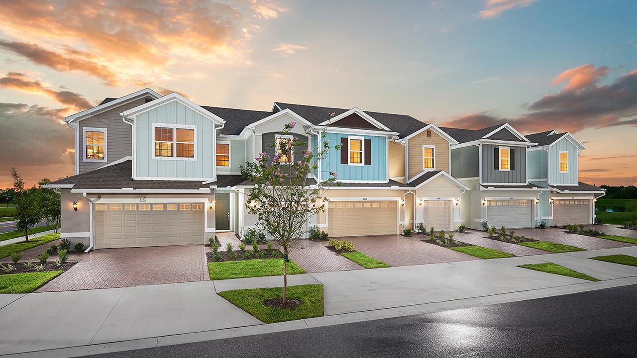 FishHawk Ranch Model Homes