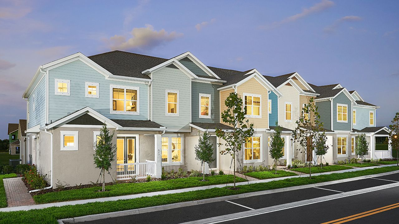 Rear Load Townhomes