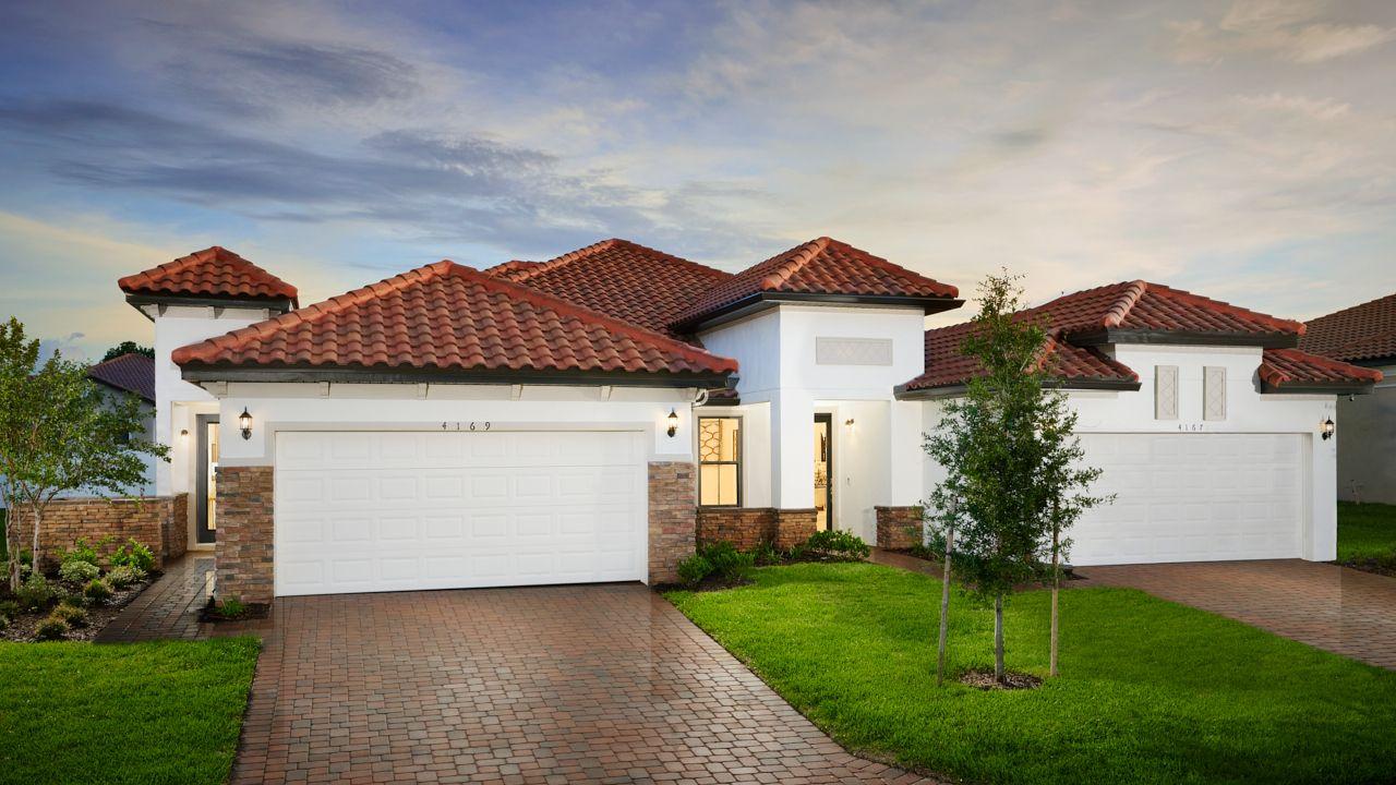New Homes in Polk County, Fl:TerraLargo - Atlantic Model