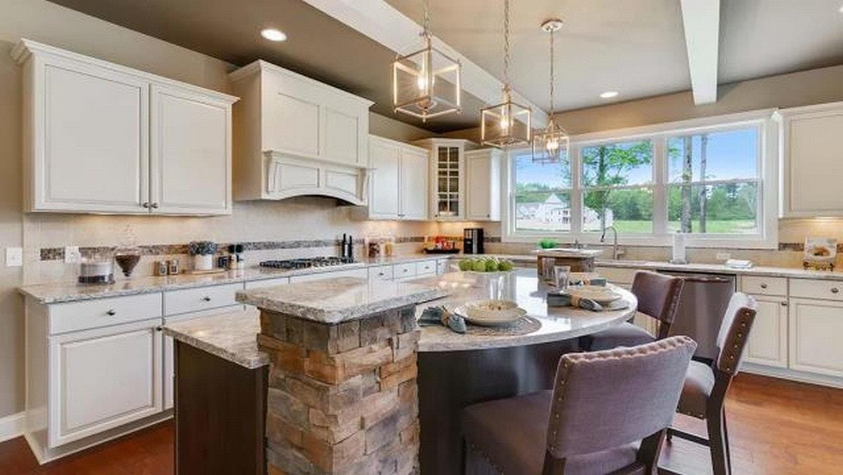 Interior:The Prescott Model Home